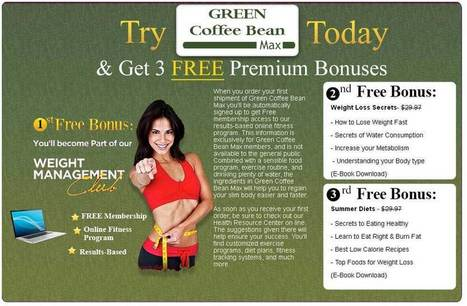 Pure Green Coffee Bean Max for Weight Loss | Green Coffee Beans Max Plus | Scoop.it