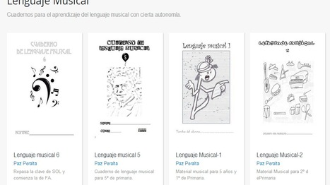 ISSUU - Lenguaje Musical by Paz Peralta | lenguaje musical | Scoop.it