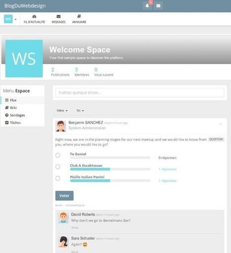 Créez votre propre réseau social avec HumHub, un outil open-source, gratuit et en français   Au fil du Web   Scoop.it