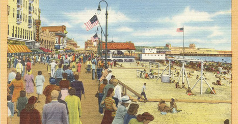 Mid-Century Postcards Reveal the Summers of the Past   Design Without Borders   Scoop.it