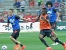 Januzaj joins Fellaini and Hazard for his first Belgium training... - Daily Mail | Belgium in 2014 World Cup | Scoop.it