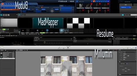 Formation professionnelle continue VJing et VidéoMapping | LeCollagiste | Multimedium | Scoop.it