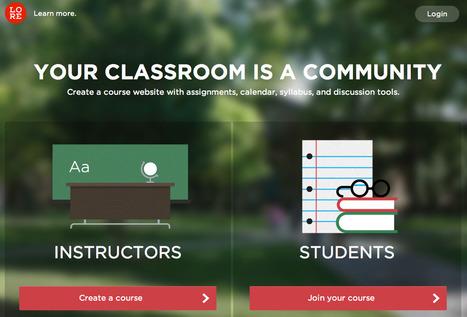 Lore - Create a classroom   Unique Teaching   Scoop.it