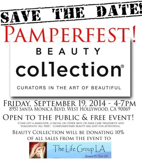 Pamperfest- Friday, Sept 19th from 4-7pm | Best of the Los Angeles Fashion | Scoop.it