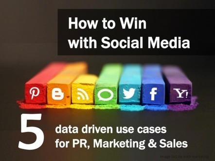How to Win with Social Media: 5 data driven use-cases from PR, Sales and Marketing | Haz | Scoop.it