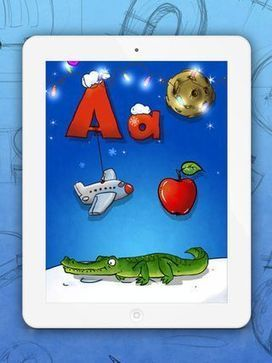Funny Alphabet - Interactive ABC Game for Kids - Review + Promo Codes! - Fun Educational Apps: Best Apps for Kids Reviews iPad / iPhone / iPod | iPad & Literacy | Scoop.it