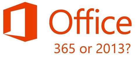What's the difference between Office 365 and Office 2013? | Office 365 Ninja | Technology to Teach | Scoop.it
