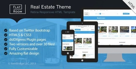 25 Responsive html5 Real Estate website templates - DesignMain.com | Designmain.com - Design, Inspiration & Freebies | Scoop.it