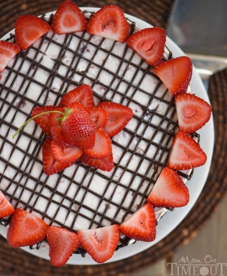 No Bake Strawberry Cheesecake - Mom On Timeout | Passion for Cooking | Scoop.it
