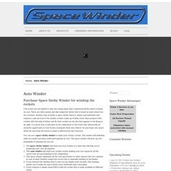 Space derby Rocket | Space Winder | Scoop.it