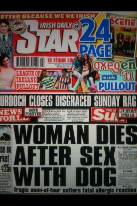 Une irlandaise meurt après avoir eu des relations sexuelles avec un chien ! | Mais n'importe quoi ! | Scoop.it