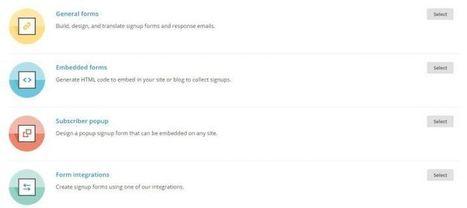 Configurar un formulario Mailchimp (popup) | Help to Community Manatger | Scoop.it