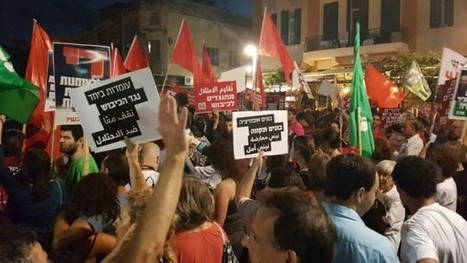 WATCH: In Tel Aviv, thousands protest Israel's 'fascist' incoming defense minister | Business Video Directory | Scoop.it