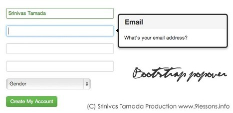 Bootstrap Registration Form Tutorial. | bootstrap | Scoop.it