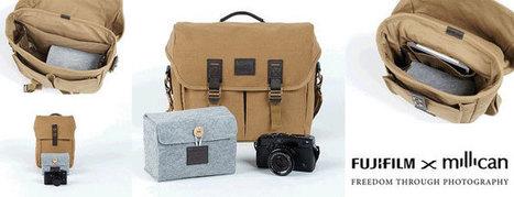 Fujifilm UK And Millican Camera Bags | liveimpression | Scoop.it