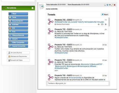 Twitter en el aula | Edu-Recursos 2.0 | Scoop.it