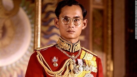 Thai King Bhumibol Adulyadej dies at 88   Chain Letters from above   Scoop.it