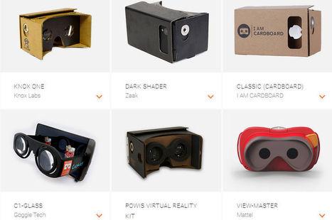 Réalité virtuelle : Google passe aux choses sérieuses | Clic France | Scoop.it