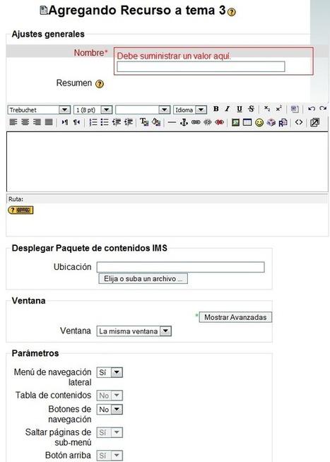 Desplegar paquete de contenido IMS | Moodle. Plataforma de Aprendizaje. | PLATAFORMAS CLASES VIRTUALES | Scoop.it