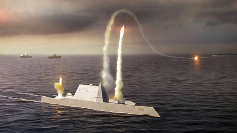 America's 21st Century Destroyer Set Sail For the First Time Saturday | leapmind | Scoop.it