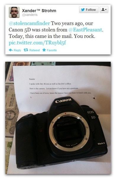 Un site pour retrouver un appareil photo volé | Libertés Numériques | Scoop.it