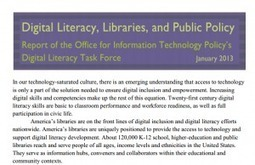 New Report Highlights School Libraries' Promotion of Digital Literacy | Hudson HS Learning Commons | Scoop.it