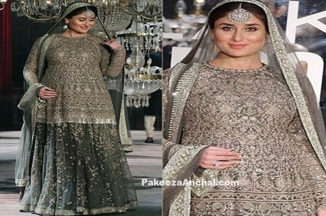 Kareena Kapoor in Sabyasachi Lehenga in LFW 2016 | Indian Fashion Updates | Scoop.it