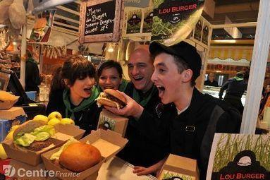 Le burger 100% limousin fait un bœuf au salon de l'agriculture   La Gazette du Food Truck - Food Angel's   Scoop.it