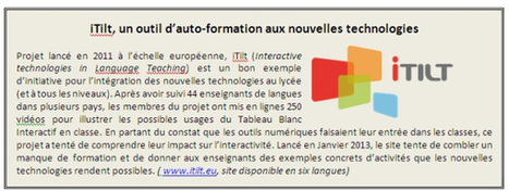 Chicken and egg problem for IWB use in French high schools | itilt.eu | TELT | Scoop.it