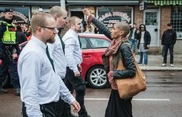 Woman who defied 300 neo-Nazis at Swedish rally speaks of anger | Mundo etc | Scoop.it