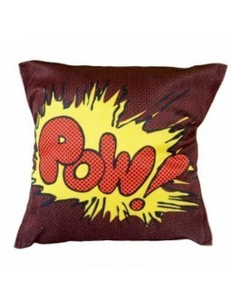 MeSleep CDPW-03 Velvet Painted Pow Cushion Covers- Shop and Buy Online at Best prices in India. | Online Diwali-gifts | Scoop.it