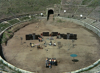 Watch Pink Floyd Play Live in the Ruins of Pompeii (1972) | Music for a London Life | Scoop.it