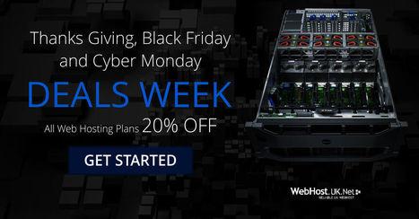 ThanksGiving Offers, Black Friday Deals, Cyber Monday Deals   UK Web Hosting   UK Reseller Hosting   Scoop.it