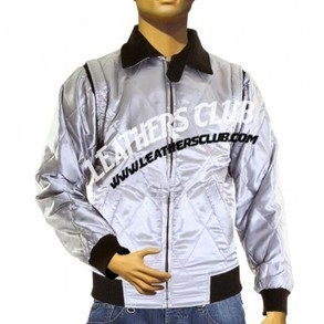 Ryan Gosling Scorpion Satin Silver Colored Leather Jacket | Movie Jackets | Scoop.it