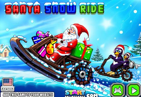 Santa Snow Ride | online games | Scoop.it