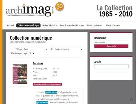 Feuilletez tout Archimag en ligne | Bib & Web | Scoop.it