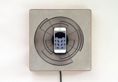 Spira, la cornice da parete che ricarica iPhone con l'induzione e funge da orologio   Film and Literature   Scoop.it