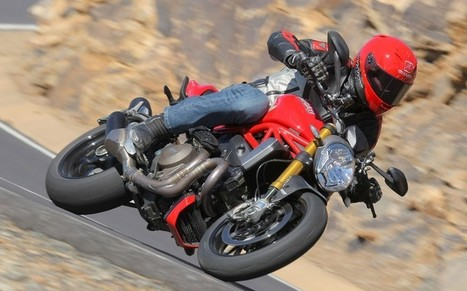 Ducati Monster 1200S review and video - The Telegraph | Ductalk Ducati News | Scoop.it