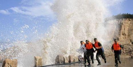 L'est de la Chine et le Japon se préparent à l'arrivée d'un puissant typhon   LeMonde.fr   Japon : séisme, tsunami & conséquences   Scoop.it