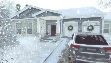 Home For Christmas | 亗 Second Life Home & Decor 亗 | Scoop.it
