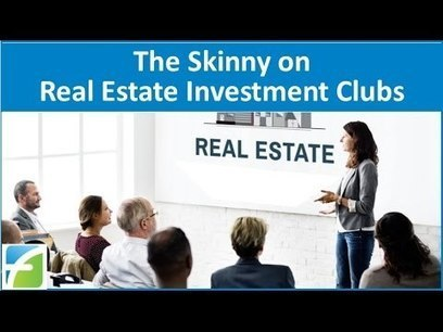 The Skinny on Real Estate Investment Clubs | thehomesport | Scoop.it
