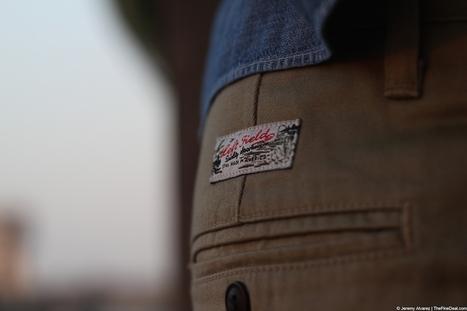 Left Field NYC | Khaki Japanese Twill Kerouac Chino | Men's style | Scoop.it