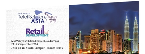 SES exhibits at the Retail Solutions Asia show in Kuala Lumpur - September, 24th & 25th, 2014 | Store Electronic Systems News | Scoop.it