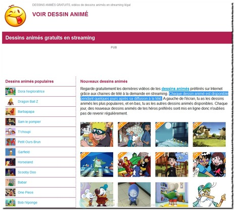 Dessins animés gratuits en streaming | Time to Learn | Scoop.it