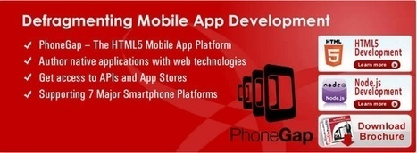 phonegap development| phonegap developers | Phone gap cross platform mobile app development tool | Scoop.it