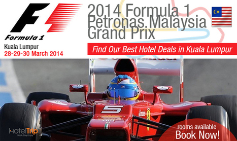 Ready for the Big Event Formula 1- Malaysia Grand Prix?   News Update   Scoop.it