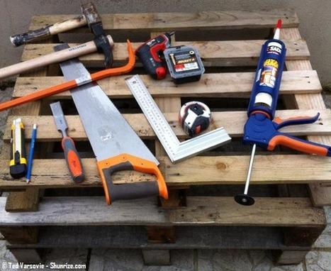 Bricolage : Creer du mobilier de jardin avec des palettes en bois   Tutoriels & Inspirations - Bricolage   Scoop.it