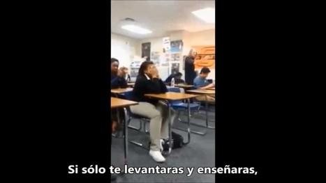 Un estudiante hace frente a profesora con argumentos contundentes | Módulos: profesorado y relación directa con el temario | Scoop.it