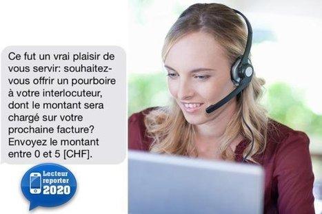 20 minutes - Orange veut doper son call center avec des pourboires - Geneve | Services&Technologies | Scoop.it
