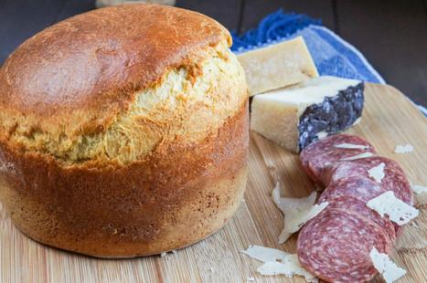#Umbria - Crescia al Formaggio (Italian Easter Cheese Bread) | Umbria & Italy | Scoop.it